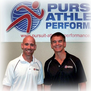 Dr. Kurt Strecker and Coach Al Lyman