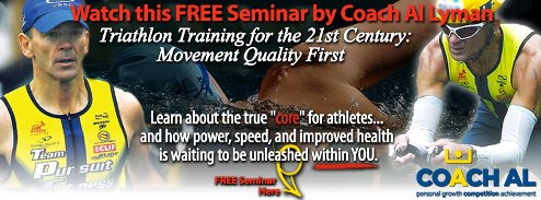 coach al, triathlon, triathlon training, core, deep front line, pursuit athletic performance