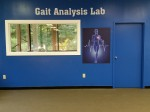 Looking directly at the Gait Analysis Lab!