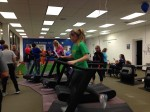 Athletes experimenting with the TrueForm Runners!