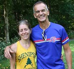 Coach Al with elite ultra-runner, Debbie Livingston