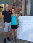 Deb and Coach Al, at their Cedar Lake Trail Camp and Retreat this past weekend!